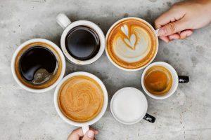 Espresso; Cappucino; Mocha