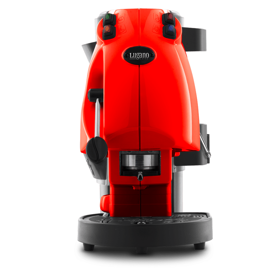Lugano Espresso Makinesi kırmızı 1