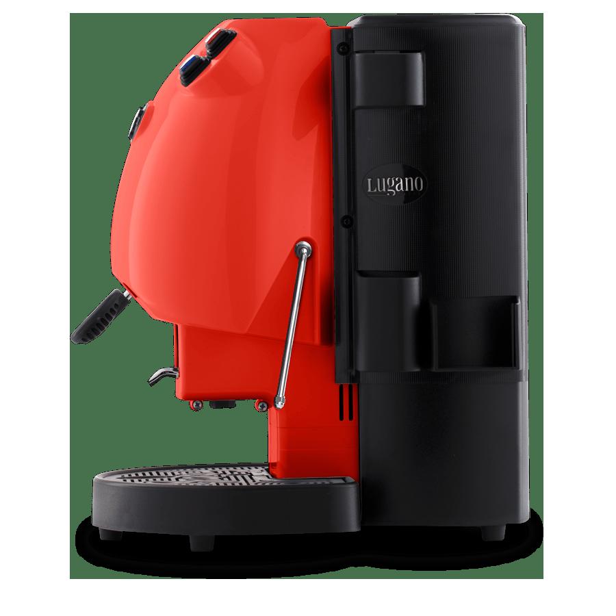 Lugano Espresso Makinesi kırmızı 2