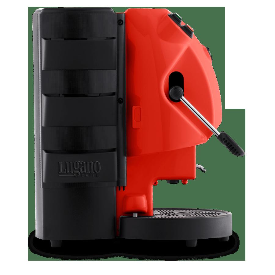Lugano Espresso Makinesi kırmızı 3