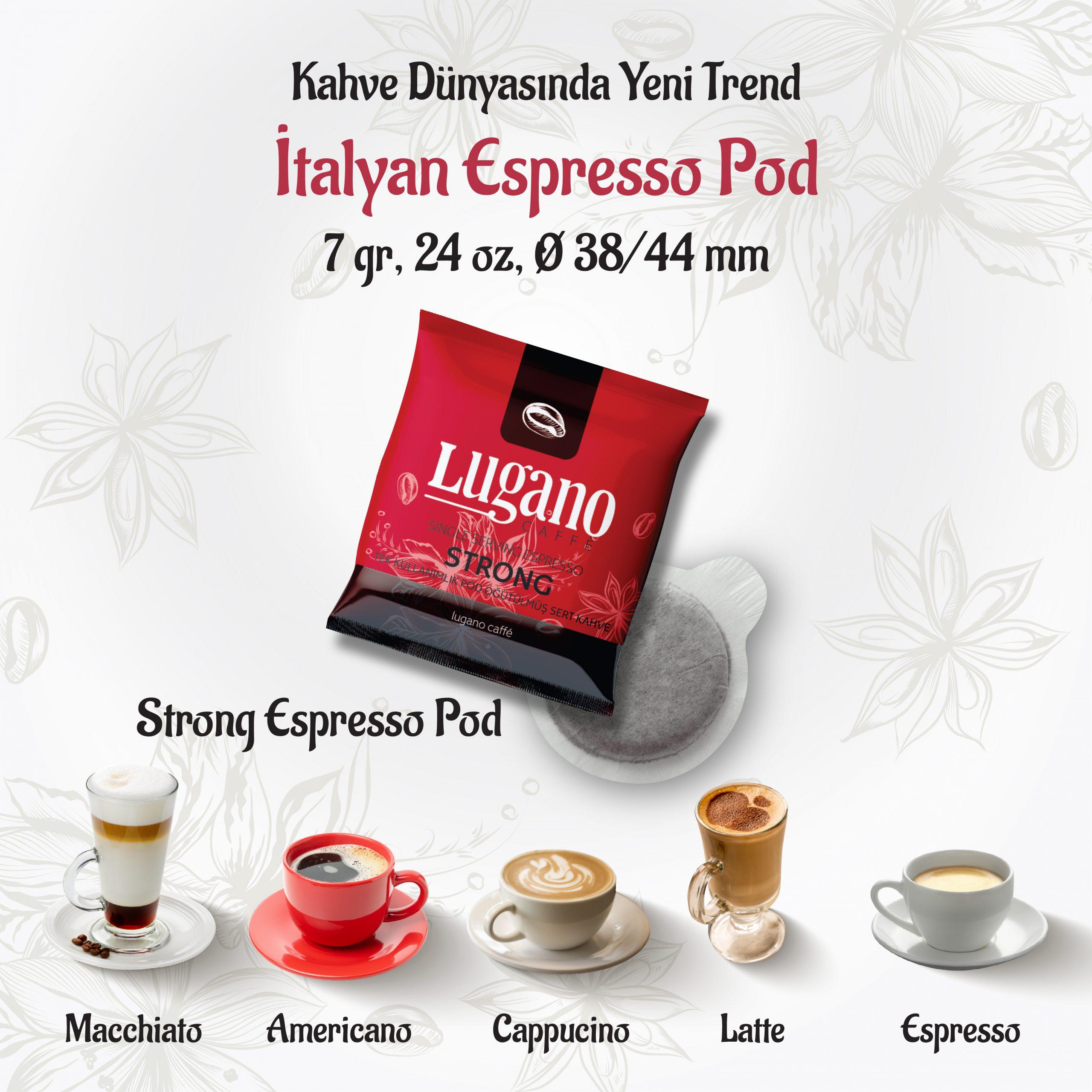 Strong Espresso Pod