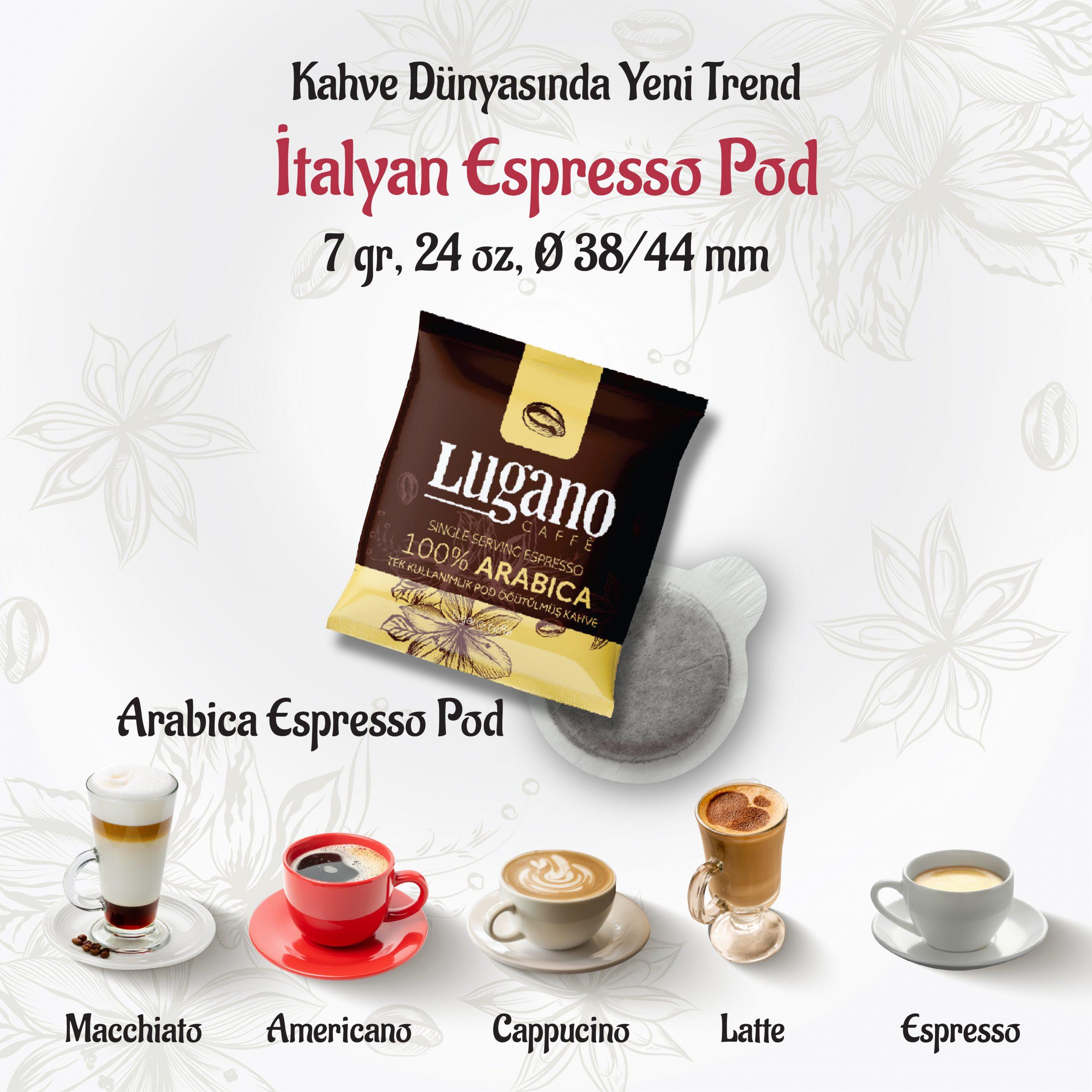 Lugano Arabica Espresso Pod